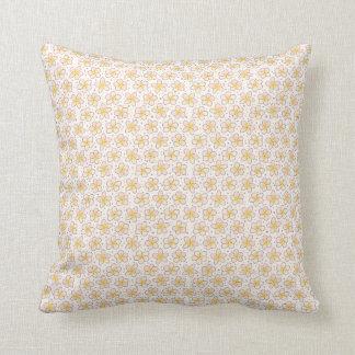 Almofada Travesseiro decorativo colorido tirado mão do