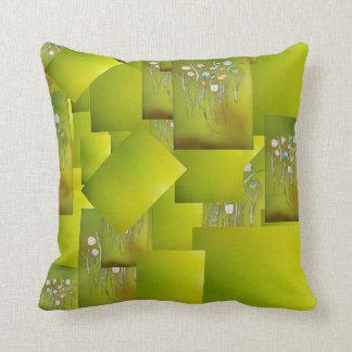 Almofada travesseiro decorativo com design abstrato