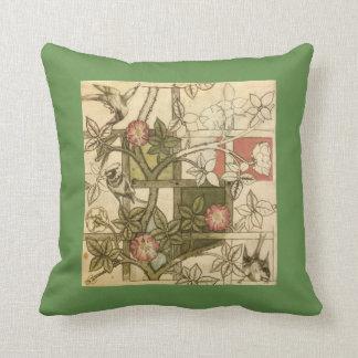 Almofada Travesseiro decorativo com design da treliça