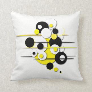 """Almofada Travesseiro decorativo com dos """"design amarelo"""