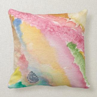 Almofada travesseiro decorativo com parte traseira abstrata