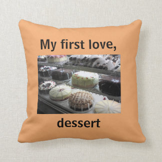 Almofada Travesseiro decorativo com sobremesas deliciosas