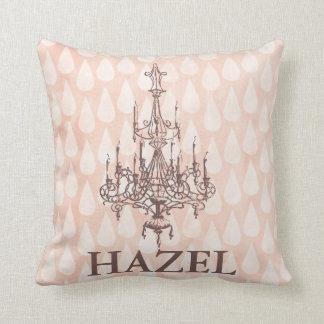Almofada Travesseiro decorativo cor-de-rosa do berçário do