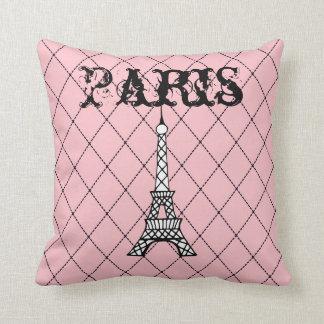 Almofada Travesseiro decorativo cor-de-rosa do quarto da