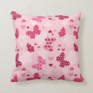 Almofada Travesseiro decorativo cor-de-rosa do teste padrão