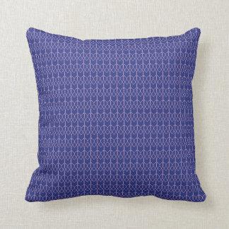 Almofada Travesseiro decorativo cor-de-rosa dos azuis