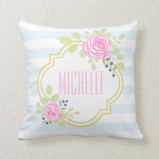 Almofada Travesseiro decorativo cor-de-rosa extravagante do