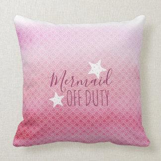 Almofada Travesseiro decorativo cor-de-rosa fora de serviço