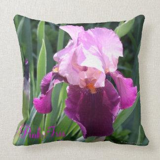 Almofada travesseiro decorativo cor-de-rosa Sun-beijado da