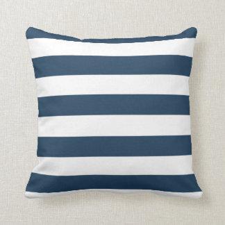 Almofada Travesseiro decorativo corajoso do azul marinho e