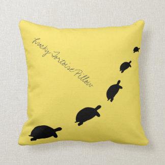 Almofada Travesseiro decorativo/coxim afortunados da