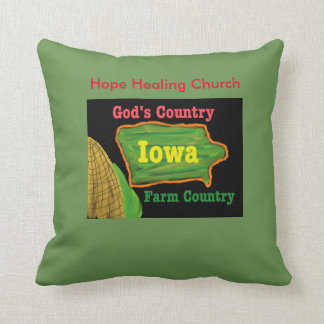 Almofada Travesseiro decorativo cura do deus da fazenda de