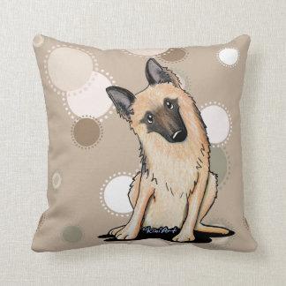 Almofada Travesseiro decorativo curioso do german shepherd