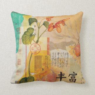 Almofada Travesseiro decorativo da ABUNDÂNCIA da BEGÓNIA