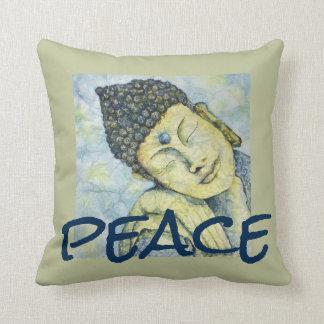 Almofada Travesseiro decorativo da aguarela de Buddha da