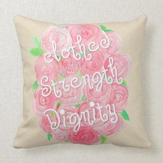 Almofada Travesseiro decorativo da aguarela dos provérbio