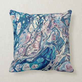 Almofada Travesseiro decorativo da arte abstracta da vida