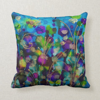 Almofada Travesseiro decorativo da arte da flor