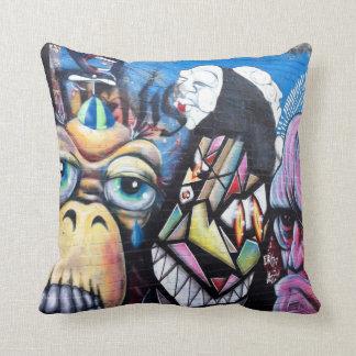 Almofada Travesseiro decorativo da arte/grafites da rua de