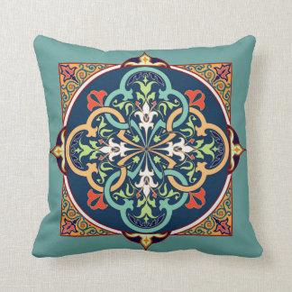 Almofada Travesseiro decorativo da arte persa do Islão do