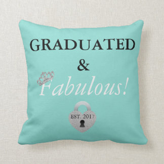 Almofada Travesseiro decorativo da celebração da graduação
