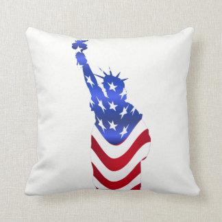 Almofada Travesseiro decorativo da estátua da liberdade da