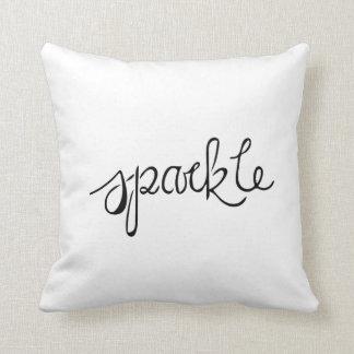 Almofada Travesseiro decorativo da faísca