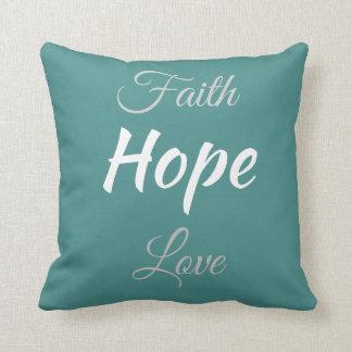 Almofada Travesseiro decorativo da fé