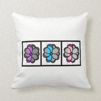 Almofada Travesseiro decorativo da flor