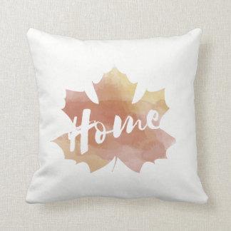 Almofada Travesseiro decorativo da folha | do outono da