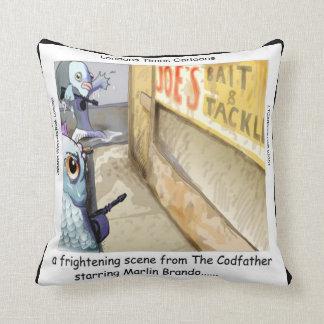 Almofada Travesseiro decorativo da máfia dos peixes de