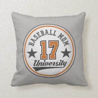 Almofada Travesseiro decorativo da mamã do basebol