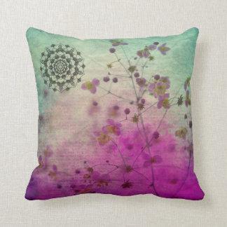 Almofada Travesseiro decorativo da mandala e dos