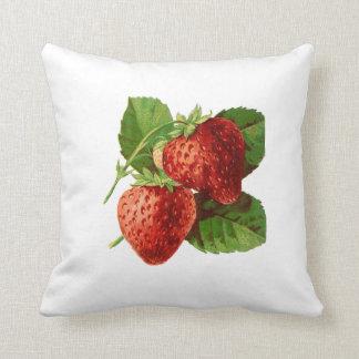 Almofada Travesseiro decorativo da morango