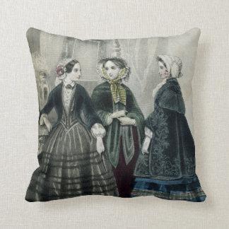 Almofada Travesseiro decorativo da mulher elegante do