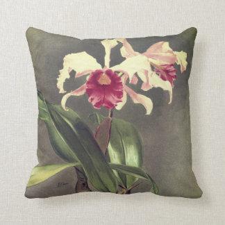 Almofada Travesseiro decorativo da orquídea de Cattleya