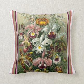 Almofada Travesseiro decorativo da orquídea de Ernst