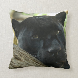 Almofada Travesseiro decorativo da pantera preta