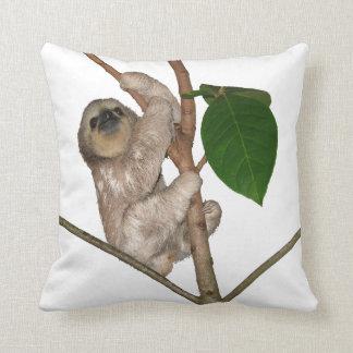 Almofada Travesseiro decorativo da preguiça do bebê