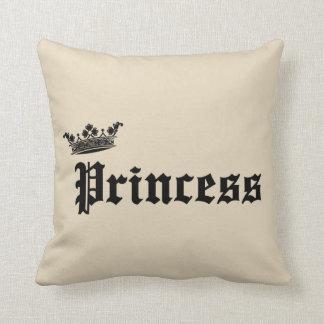 Almofada Travesseiro decorativo da princesa Coroa Casa da