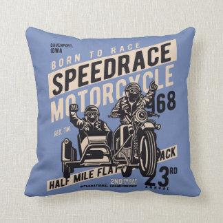 Almofada Travesseiro decorativo da raça da velocidade