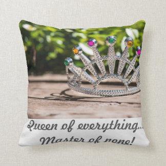 Almofada Travesseiro decorativo da rainha da coroa
