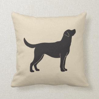 Almofada Travesseiro decorativo da silhueta do cão de