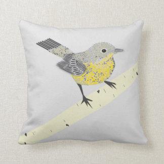 Almofada Travesseiro decorativo das aves canoras
