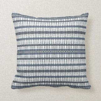 Almofada Travesseiro decorativo das bandas azuis