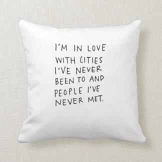 Almofada Travesseiro decorativo das citações