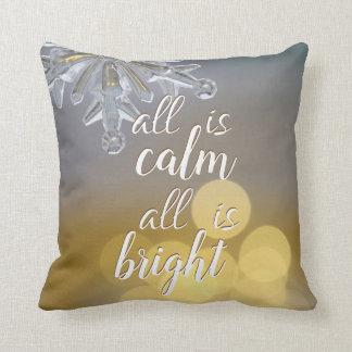 Almofada Travesseiro decorativo das citações de Bokeh dos