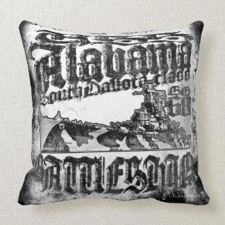 Almofada Travesseiro decorativo de Alabama da navio de