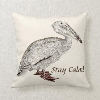 Almofada Travesseiro decorativo de assento do falcão velho