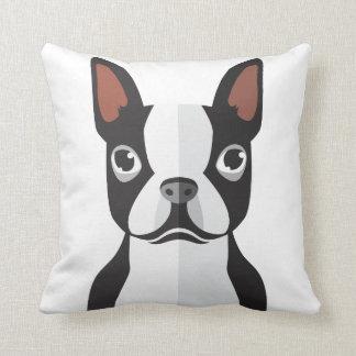 Almofada Travesseiro decorativo de Boston Terrier